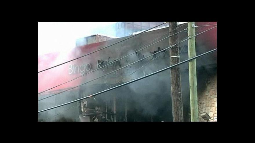 Video Přes padesát mrtvých v mexickém kasinu