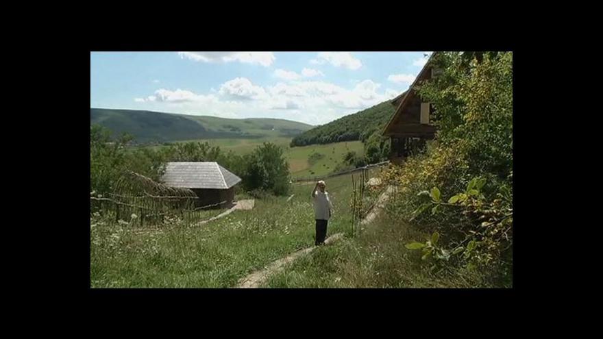 Video Těžba zlata v Rumunsku