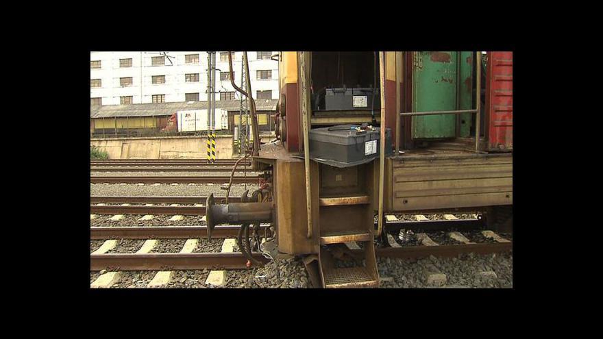 Video Libní opět jezdí vlaky