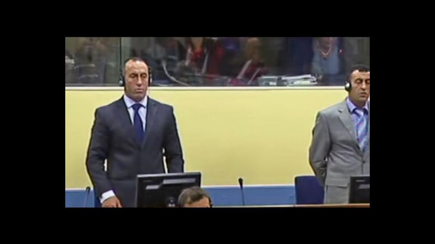 Video Ramush Haradinaj znovu před soudem