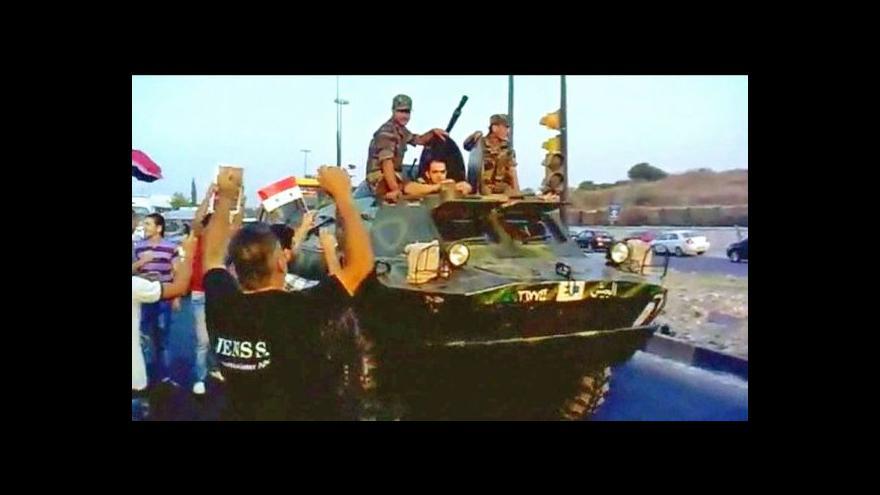Video Asad oznámil konec armádních operací proti demonstrantům