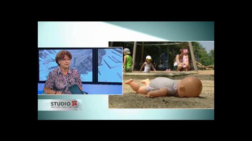Video Rozhovor s Danou Pernetovou o střídavé péči