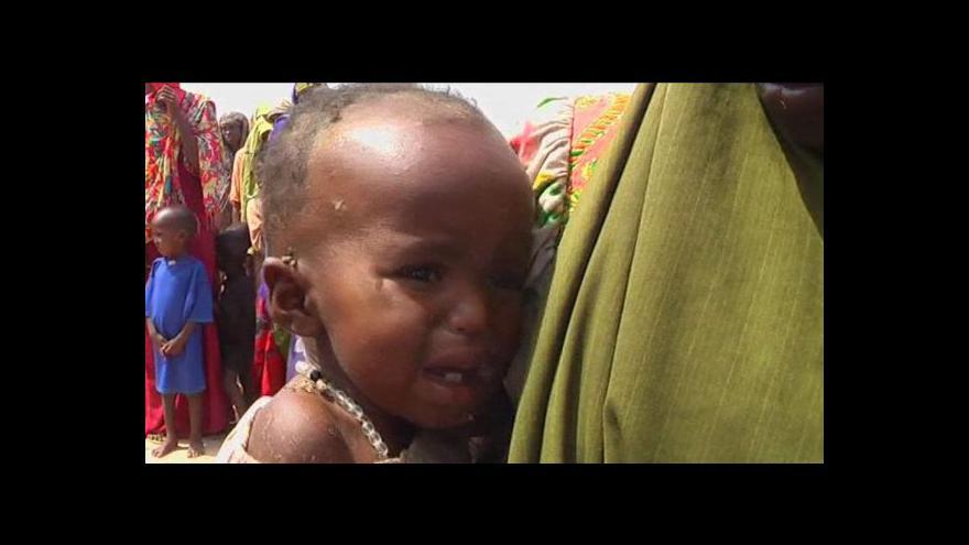 Video Somálsko nadále trápí hladomor