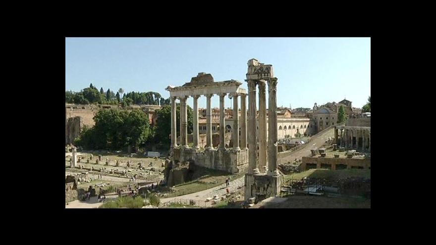 Video Italské památky pláčou