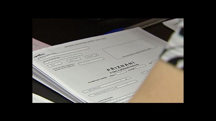 Video Daňové paušály tématem Ekonomiky ČT24