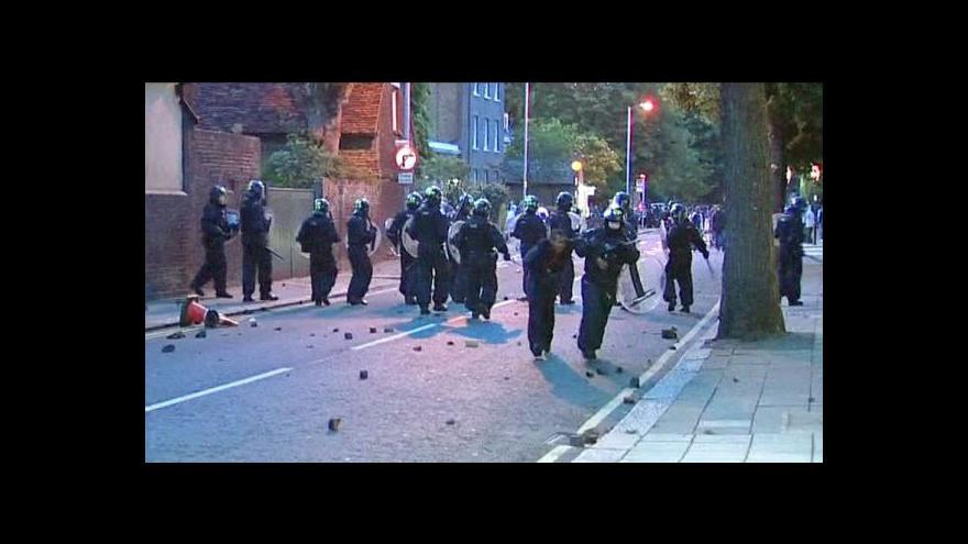 Video Milan Kocourek a Ivan Kytka o násilnostech v Londýně