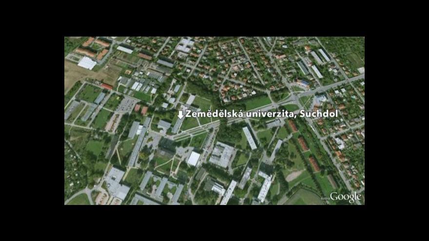 Video Zavalený dělník v Suchdole