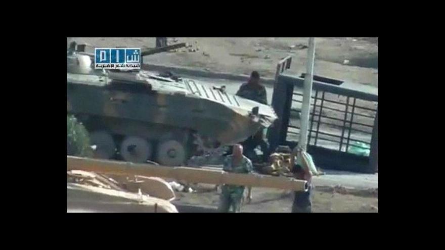 Video V Sýrii se v noci opět střílelo
