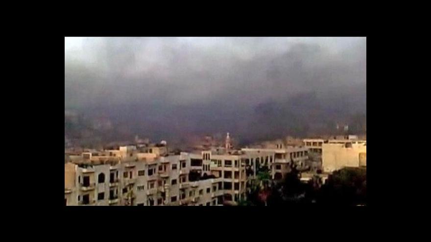 Video Svět odsuzuje násilí v Sýrii