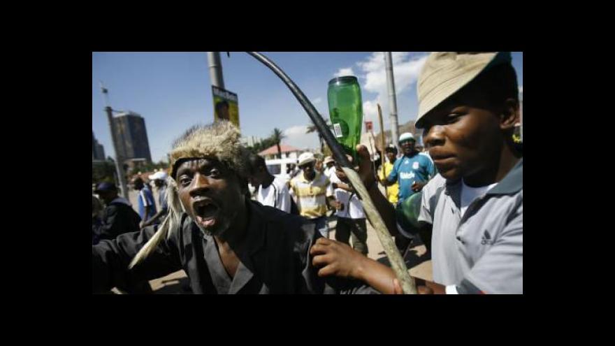 Video Ekonomika JAR ohrožena stávkou