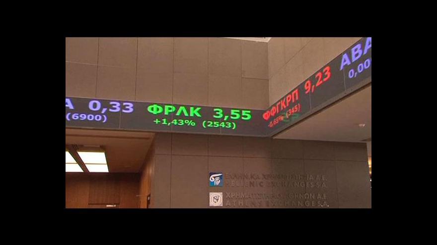 Video Řecký rating tématem Ekonomiky ČT24