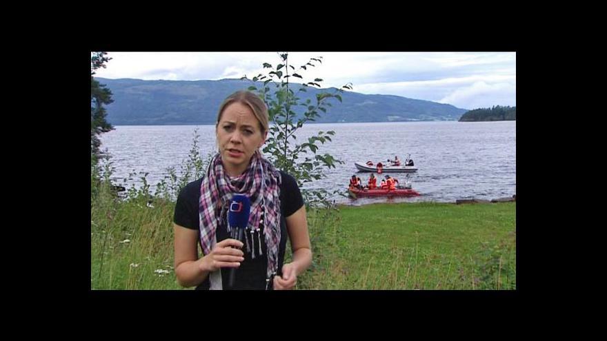 Video Události k útokům v Norsku a reportáž Evy Pláničkové z Utöye