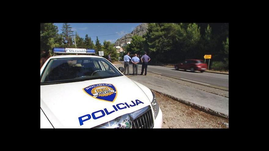 Video Reportáž Edity Horákové o českých policistech v Chorvatsku