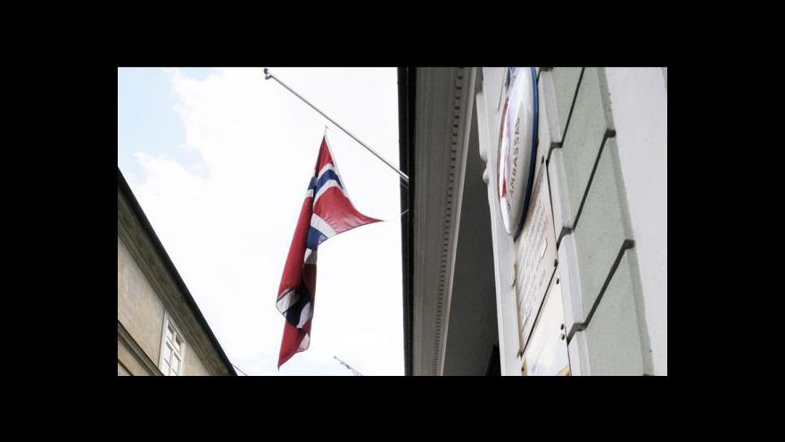 Video Odpolední události k situaci v Norsku