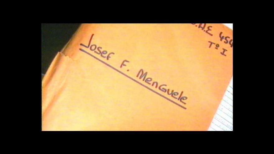 Video Mengeleho deníky vydražil ortodoxní žid