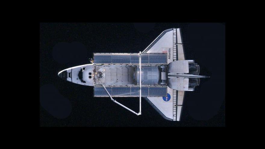 Video Studio ČT24 k přistání Atlantisu