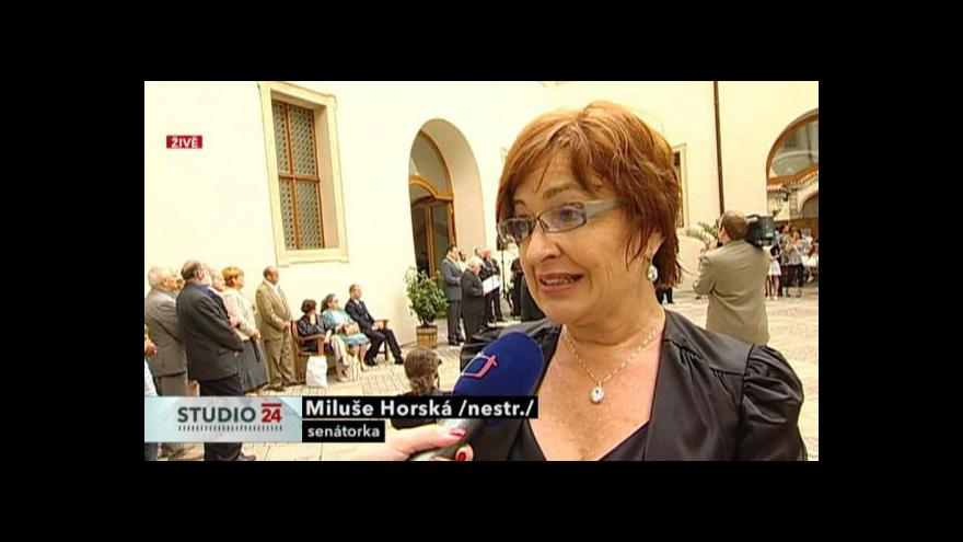 Video Rozhovor s Miluší Horskou