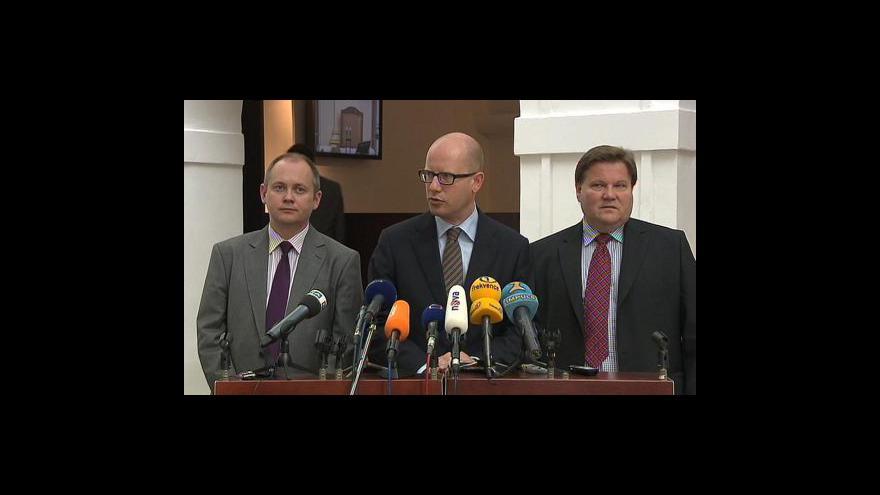 Video TK ČSSD k jednání s vladou o důchodech