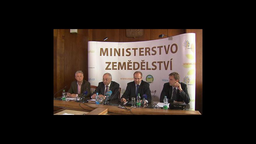 Video Brifink ministerstva zemědělství