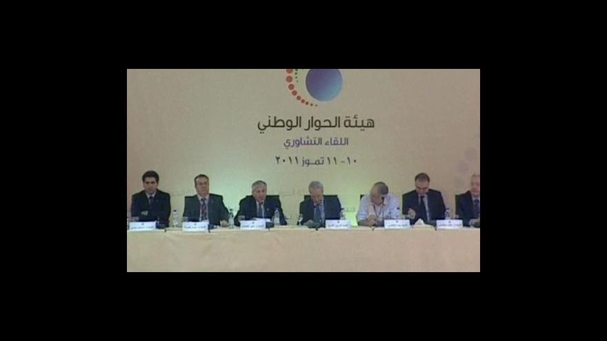 Video Asadův režim začal jednat s opozicí