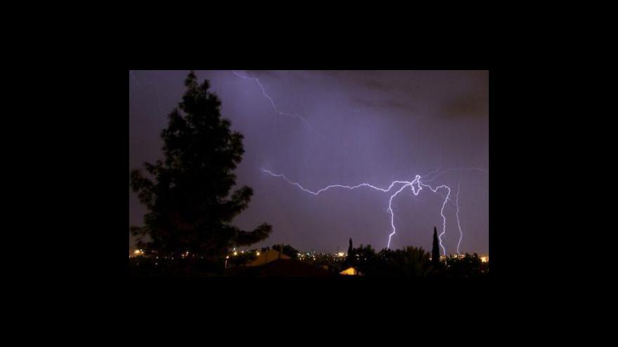Video Českem se přehnala vlna bouřek