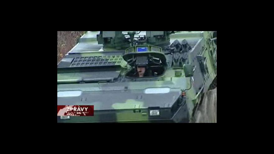 Video Reportáž o vozech Pandur