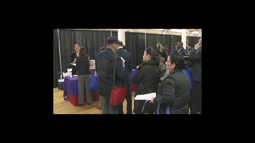 Video Nezaměstnanost v USA