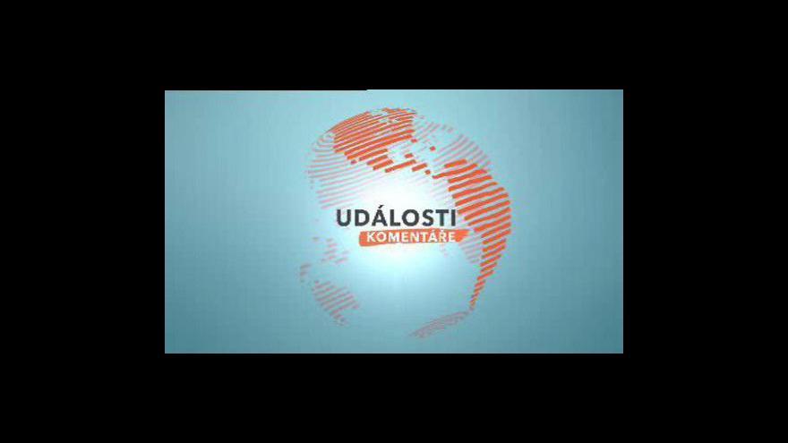 Video Události, komentáře s Gordanou Kneževič a Jiřím Přibáněm