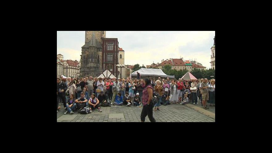 Video Vstup Ivany Šmelové z Oslav Prahy