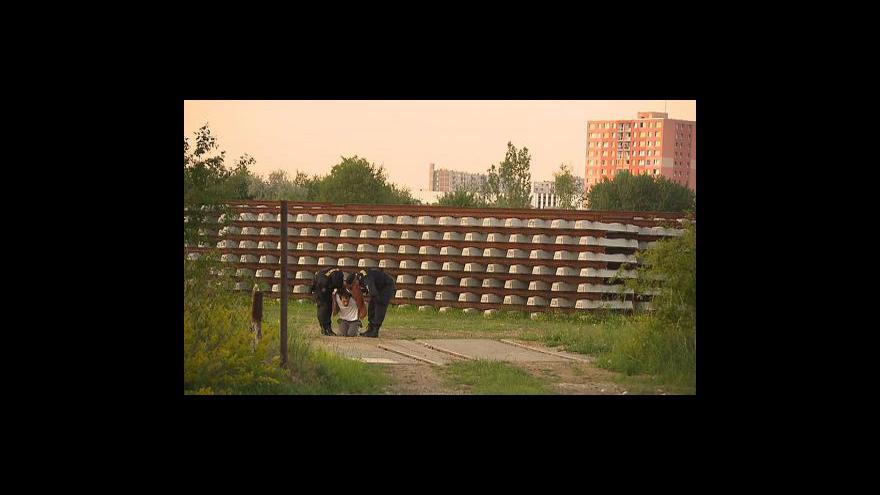 Video Střelec v pražských Modřanech