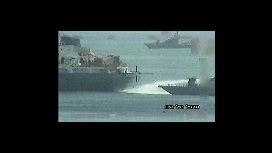 Video Lodě na pomoc Gaze vyplují z Kréty