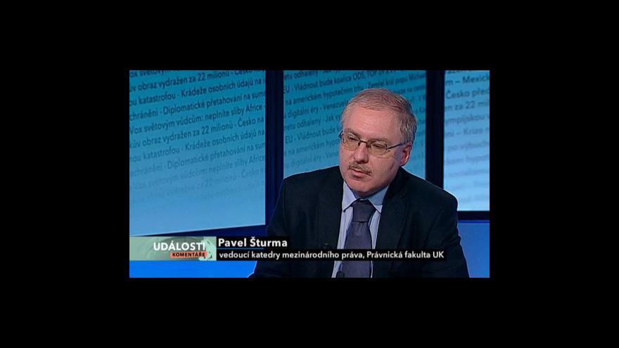 Video Rozhovor s Pavlem Šturmou