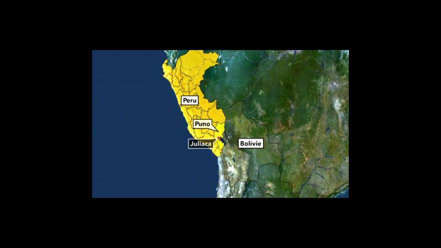 Video Střelba do demonstrantů v Peru