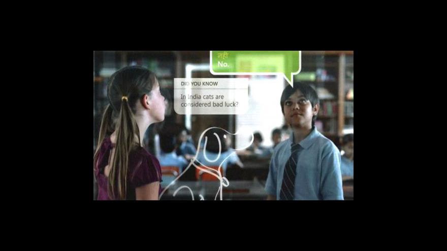 Video Microsoft představuje druhou generaci displejů