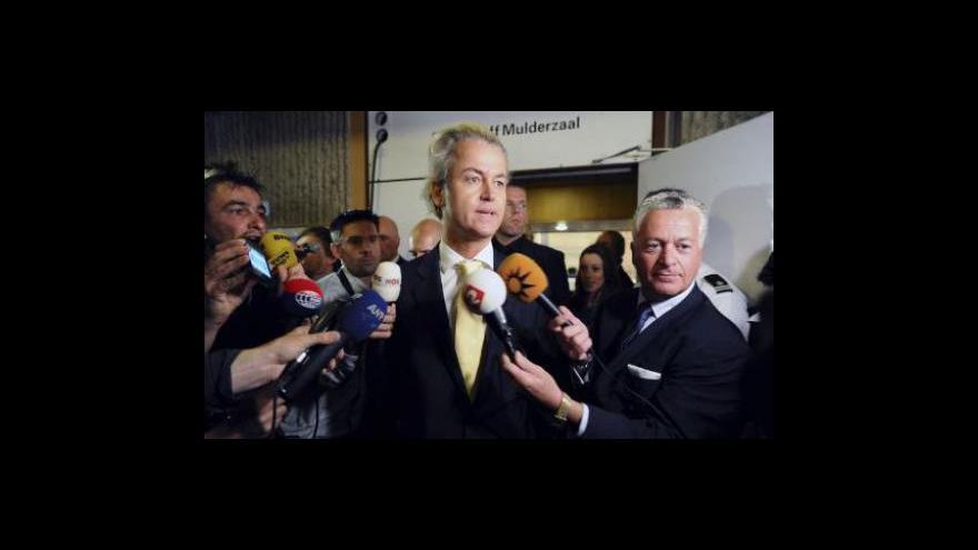 Video Studio ČT24: Wilders zproštěn obžaloby