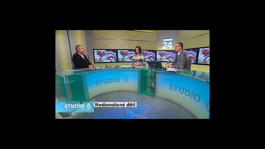 Video Jan Payne ve Studiu ČT24