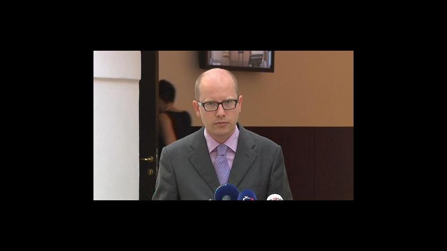 Video Brífink ČSSD ke zdravotnické reformě
