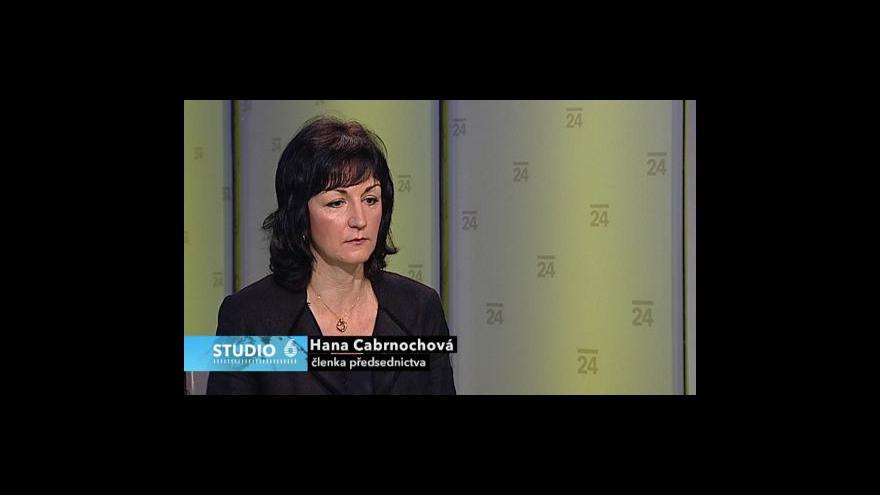 Video Rozhovor s Hanou Cabrnochovou