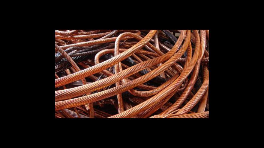 Video Krádeže měděných kabelů