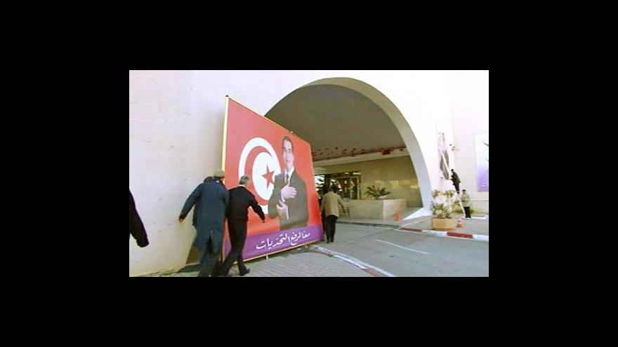 Video Studio ČT24 o soudu s tuniským prezidentem