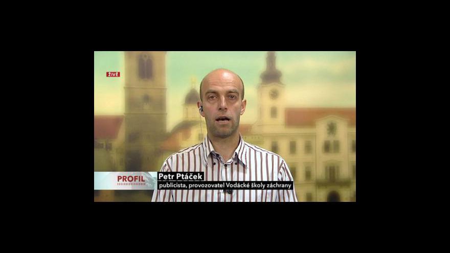 Video Rozhovor s Petrem Ptáčkem