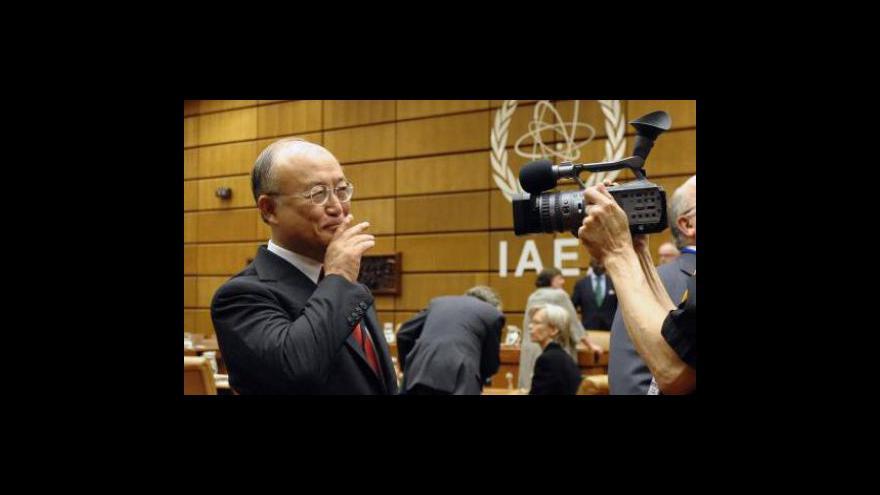 Video Havárie v jaderné elektrárně Fukušima - hlavní téma konference MAAE