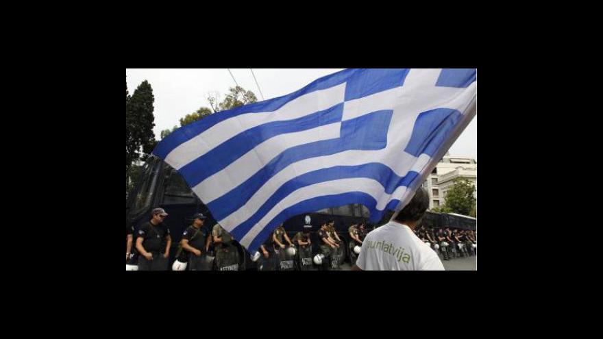 Video Řecko dostane další záchraný balík