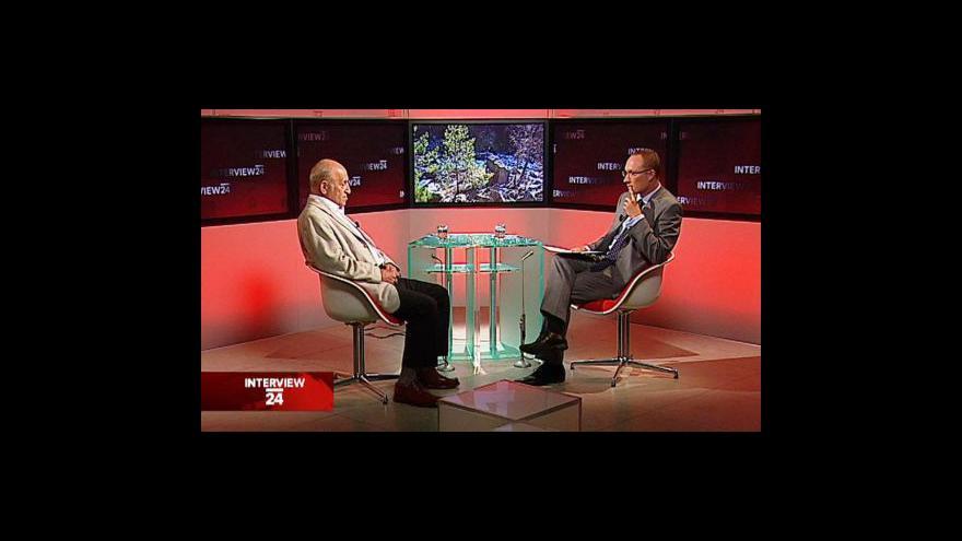 Video Jan Stráský v Interview ČT24