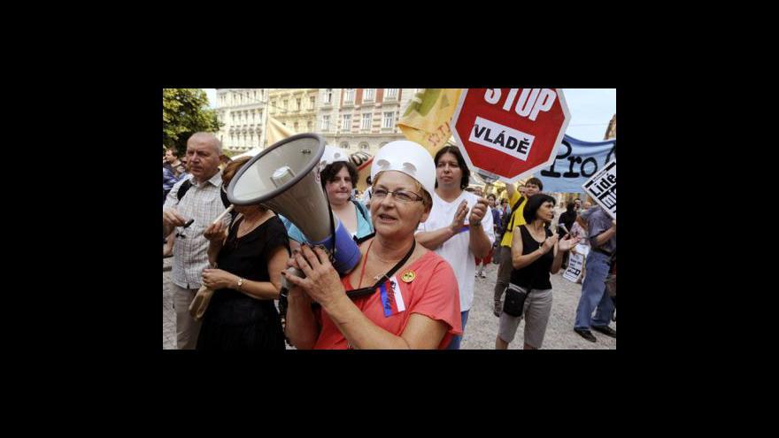 Video Reakce politiků na dnešní stávku
