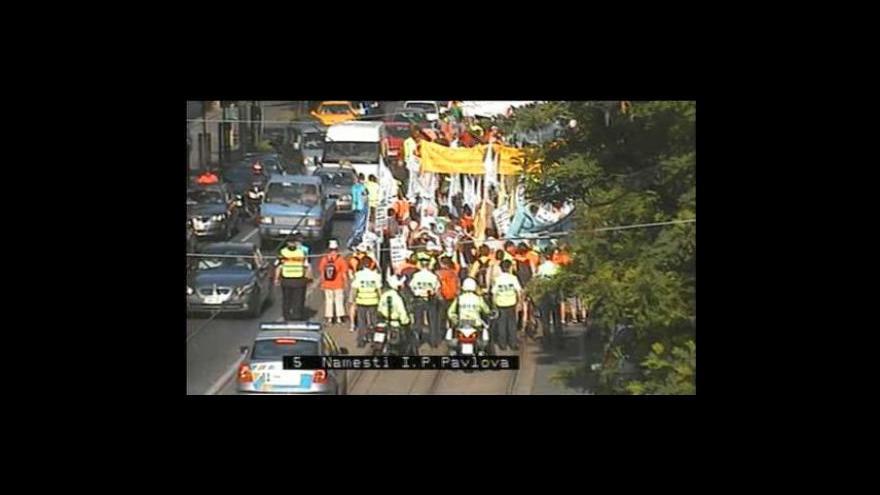 Video No comment: Stávka z dopravních kamer TSK