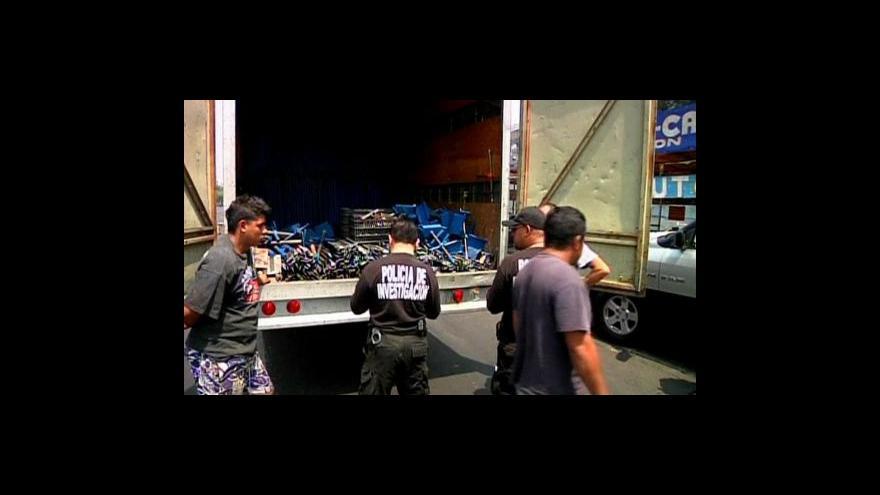 Video Mexická policie si chce vylepšit reputaci