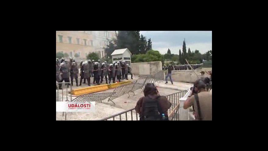 Video Nepokoje v Řecku