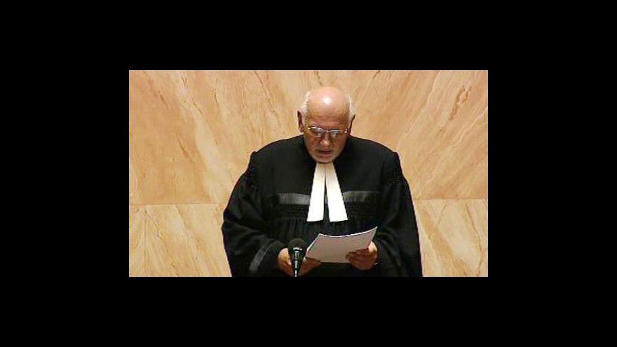 Video Nález Ústavního soudu