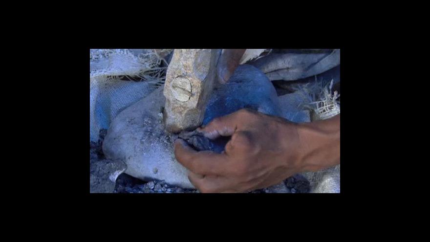 Video Těžbou zlata v Peru k ničení přírody